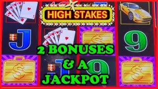 HIGH LIMIT Lightning Link High Stakes HANDPAY JACKPOT ⋆ Slots ⋆️$50 Bonus Round Slot Machine Casino