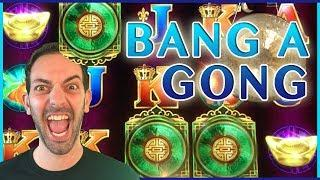 • High Limit BANG a GONG with BRIAN • • Slot Machine Pokies w Brian Christopher