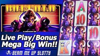 Buffalo Slot - Live Play, Free Spins, Mega Big Line Hit