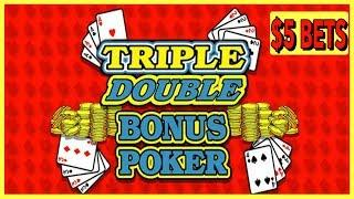 • VIDEO POKER • SUPER DOUBLE BONUS POKER  • EZ Life Slot Jackpots