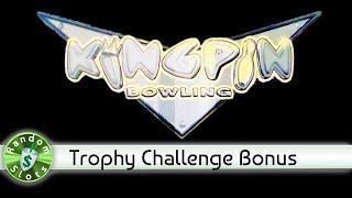 Kingpin Bowling slot machine, Trophy Challenge Bonus