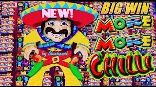 •FIRST TRY BAM!• New MORE MORE CHILLI slot machine EVERY FEATURE AMAZING RUN!