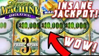 $100,000 OF WINS ON THE GREEN MACHINE ⋆ Slots ⋆ HIGH LIMIT MASSIVE WINS ⋆ Slots ⋆ JACKPOT HANDPAY