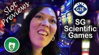 #G2E2018 SG - James Bond Die Another Day, Monopoly Grand,  The Great Immortals slot machines