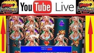 MASSIVE JACKPOT HAND PAY on BIER HAUS Slot Machine + LIVE PLAY BONUS SPINS
