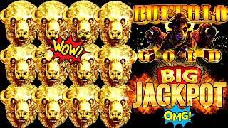 Buffalo Gold Slot Machine HANDPAY JACKPOT   Huge Jackpot Won   Season 4   EPISODE #2