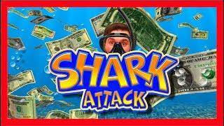 HOLY F#*K! One More Shark For 160000 Credits!!! Can I Find It? Shark Attack Slot Machine With SDGuy!