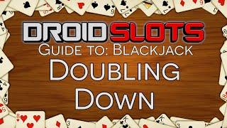 How To Play Blackjack - Double Down In Blackjack