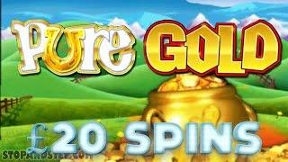 Rainbow Riches Pure Gold - £20 MEGA SPINS - Coral Bookies FOBT