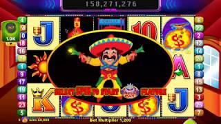 MORE CHILLI Video Slot Casino Game with a FREE SPIN BONUS