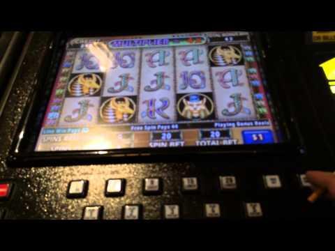 Cleopatra 2 HANDPAY JACKPOT  high limit $20 bet bonus