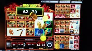Bruce Lee Fire of the Dragon Slot - Nice Line Hit