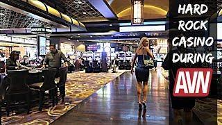 The Hallways of AVN 2018 at Hard Rock Casino