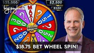 Deluxe Spin-Der Slot - AWESOME SESSION, ALL FEATURES!