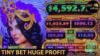 ⋆ Slots ⋆️TINY BET HUGE PROFIT⋆ Slots ⋆️ BIG JACKPOT PROGRESSIVE MIGHTY CASH VEGAS LUCK   LONG TENG HU XIAO SLOT