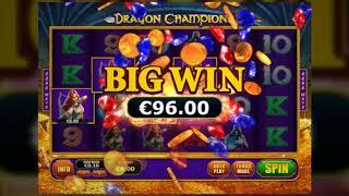 Dragon Champions Online Slot from Playtech - Dragon Fire Feature, Free Games - big wins! • Mindy's M