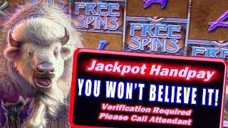 NO NEED FOR A GOLD BUFFALO! ★ Slots ★ BIGGEST JACKPOT EVER ON THUNDERING BUFFALO ★ Slots ★ HIGH LIMI