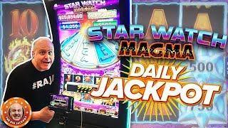 •$50 BETS! MAJOR MAGMA JACKPOT! •Star Watch Magma Slot Wins! •