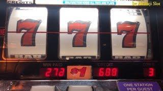 BIG WIN•BLAZING SEVENS $1 Slot Machine - 3 Reel Slot - Max Bet, Pechanga Casino