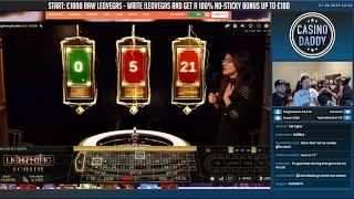 BIG WIN!!! Lightning roulette Huge Win - Casino Games - Slots (table games)