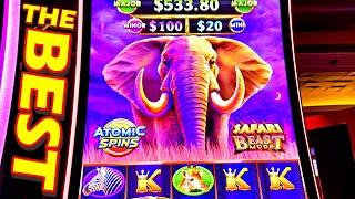 THE BEST ELEPHANT SLOT VIDEO YOU WILL SEE ALL DAY!!!! - New Las Vegas Casino Slot Machine Big Win