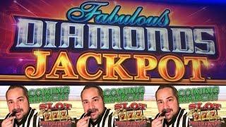 Fabulous Diamonds Jackpot Slot Machine - Diamond Spins and Free Spins Bonus