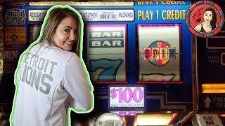 $100 BET Wheel of Fortune Handpay Jackpot in Las Vegas!