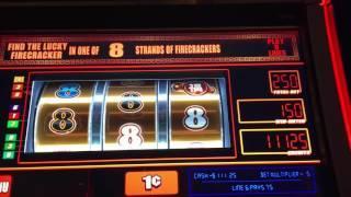 NEW YEAR FESTIVAL ~ Slot Machine Pokie PROGRESSIVES ~ BIG WINS Live Play and Bonuses