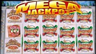 •$1.1 Million Dollar Video Slots• High Limit Casino Jackpot Handpay Lucky Luigi's Slot, Bally • SiX