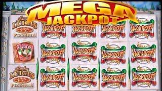 •$1.1 Million Dollar Video Slots• High Limit Casino Jackpot Handpay Lucky Luigi's Slot, Bally • SiX