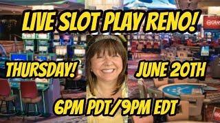 Part two of winning live stream from Atlantis in Reno