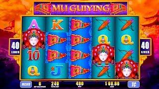 Mu Guiying Slot - NICE SESSION, ALL FEATURES!