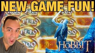 New Slots!  Hobbit & Coin Combo Marvelous Mouse at Cosmo Las Vegas!!