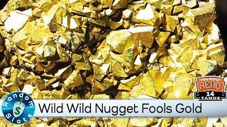 Wild Wild Nugget Slot Machine Fools Gold Bonus