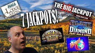 • Seven Jackpots From The Raja On Various Slot Machines From The Lodge!