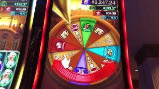 Slot Machine Wheel Wins: Cheers, Heidi's Bier Haus, 5 Dragons Grand