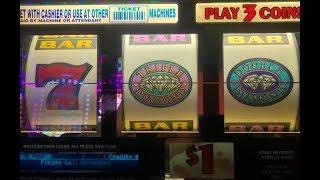 JACKPOT Live ! After Free Play•$270 FP 3/3•Triple Double Diamond Dollar Slot San Manuel, Akafujislot