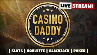LIVE CASINO SLOTS - CasinoDaddy Casino Games !! - Write !nosticky1 & 4 in chat for best bonuses!