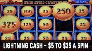 • Up to $25/Spin • LIGHTNING CASH BONUS! • Is It Worth The RISK???