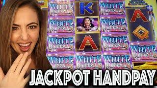 HANDPAY JACKPOT on WHITE BUFFALO at Wind Creek!