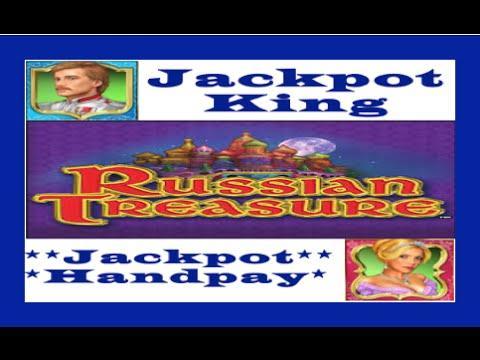 Russian Treasure Bonus + *JACKPOT HANDPAY*