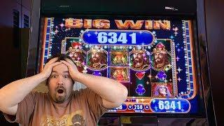 The King and the Sword - 2 cent denom MAX BET BIG WIN Slot Machine Live Play WMS