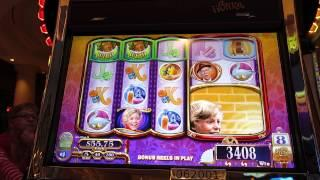 Willy Wonka Slot-WMS-Free Spins With Giant Charlie Head