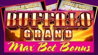 ⋆ Slots ⋆ MAX BET BONUS & SPONTANEOUS LINE HIT ⋆ Slots ⋆ BUFFALO GRAND (ARISTOCRAT SLOT MACHINE)