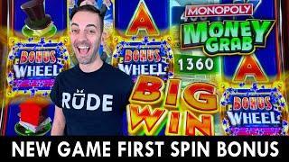 ⋆ Slots ⋆ NEW Monopoly Money Grab ⋆ Slots ⋆ First Spin BONUS!!