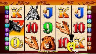 MR CASHMAN AFRICAN DUSK Video Slot Casino Game with a FREE SPIN BONUS