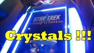 WMS - Star Trek: Starship Enterprise!  Crystals!