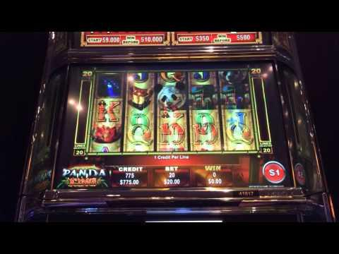 Panda King LIVE PLAY w bonus high limit slots