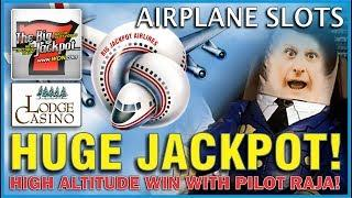 • Over TEN Grand In A Hand Pay | Airplane Slot Machine • | The Lodge •