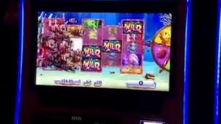 Goldfish III Slot Machine Purple Fish / Red Fish Bonus MGM Casino Las Vegas